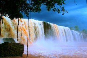 Thác nước bên trong khu rừng quốc gia