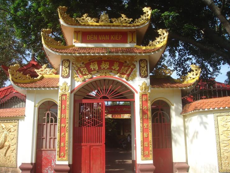 Đền Ông Cảo hay còn gọi là đền Vạn Kiếp